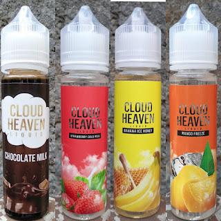 Cloud Heaven Liquid, Liquid Vape Pod