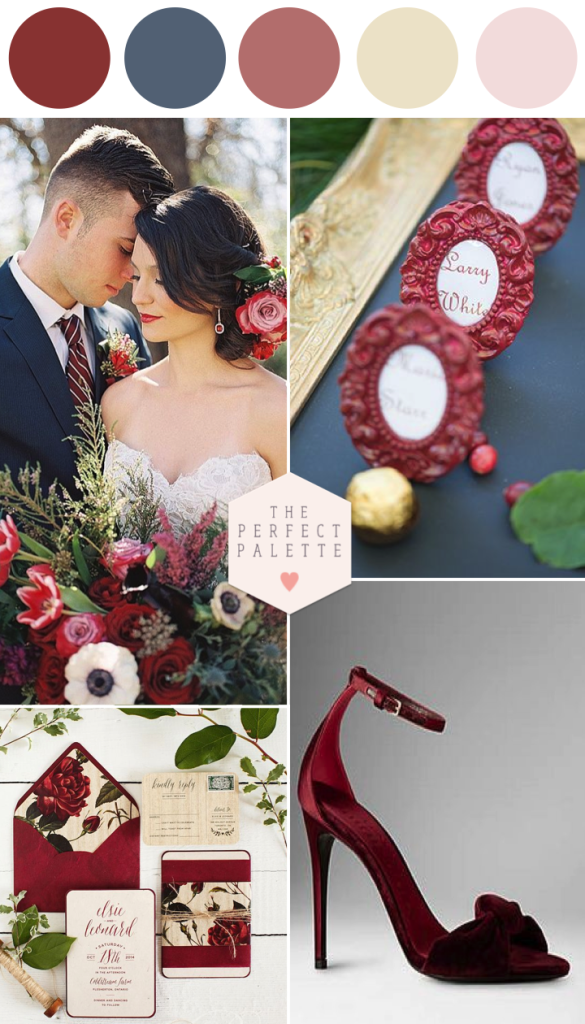 marsala and navy blue wedding inspiration the perfect