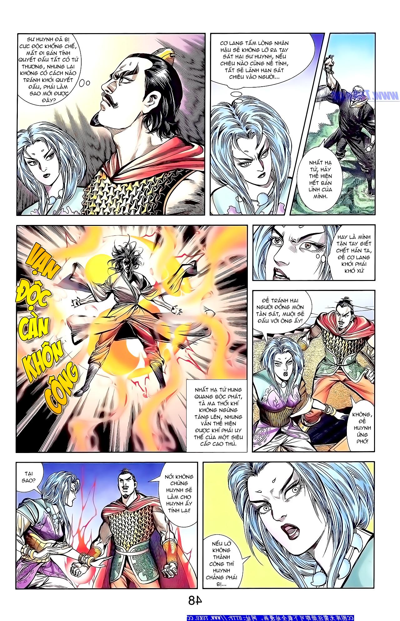 Cơ Phát Khai Chu Bản chapter 150 trang 21