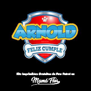 Logo de Paw Patrol: Arnold
