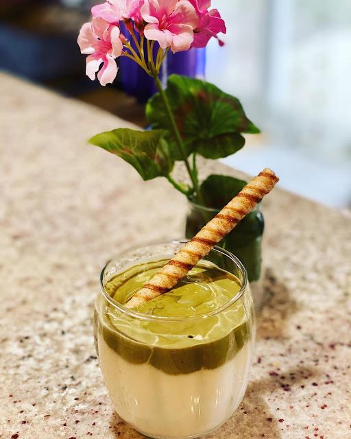 Resep Cara Membuat Dalgona Green Tea