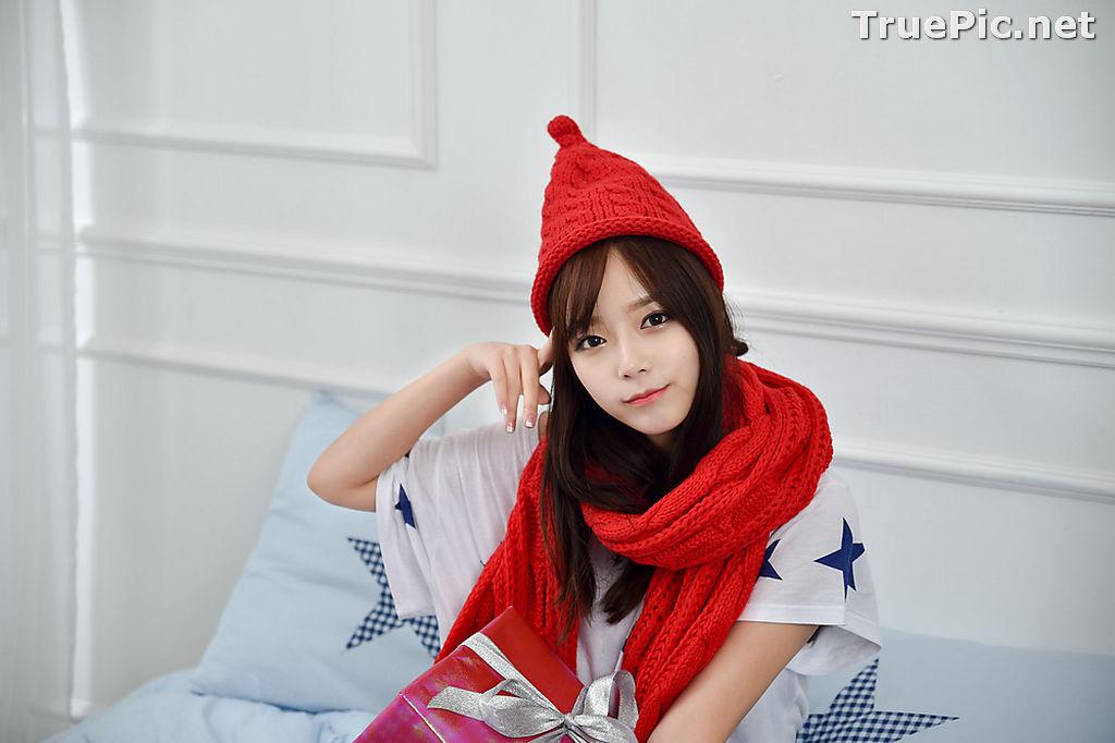 Image Korean Beautiful Model – Ji Yeon – My Cute Princess #2 - TruePic.net - Picture-9