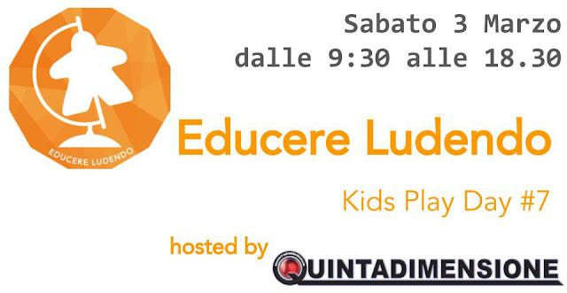 Kids Play Day #7, Sabato 3 Marzo, Legnano