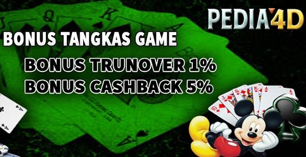 Bonus Tangkas Game Di Pedia4D