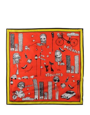 scarpe sportive e3351 b5596 The Shoppinguide.it: Dsquared gli accessori 2011 i foulard ...