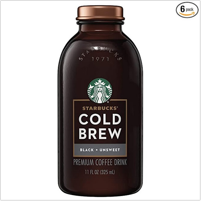 Starbucks Black Unsweetened Cold Brew Coffee;Starbucks Unsweetened Iced Coffee;