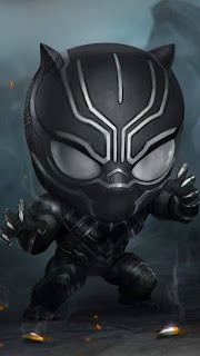 Baby Black Panther Mobile HD Wallpaper