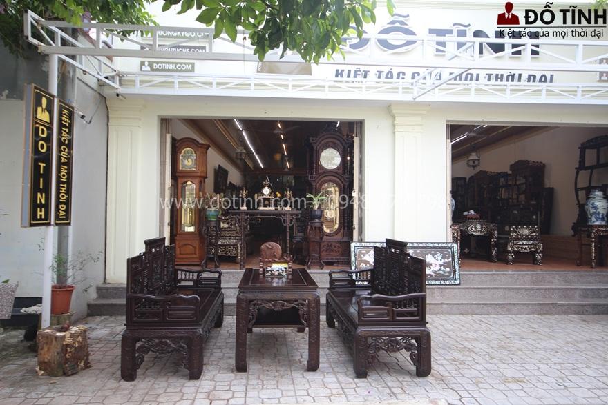 TK13: Trường kỷ cổ đồ đại nét đẹp xưa quyến rũ - Ảnh: Dotinh.com