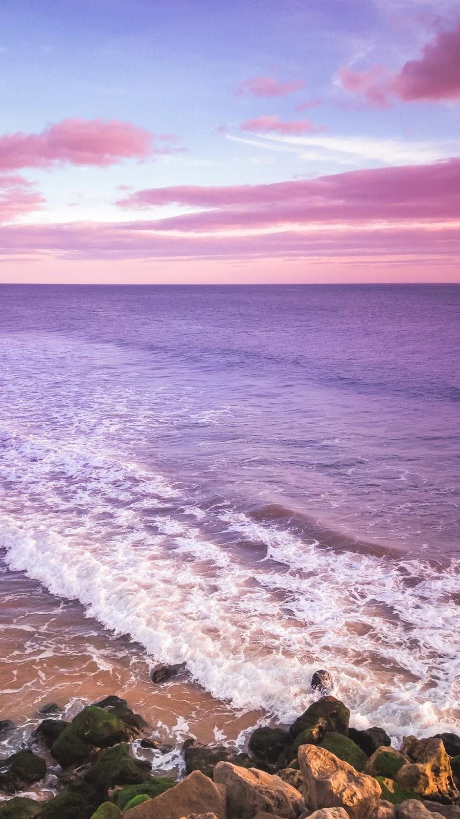 Twilight sky in the beach