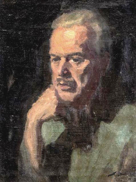 Antonio Lara de Gavilán, Portrait of Painters, Self Portrait