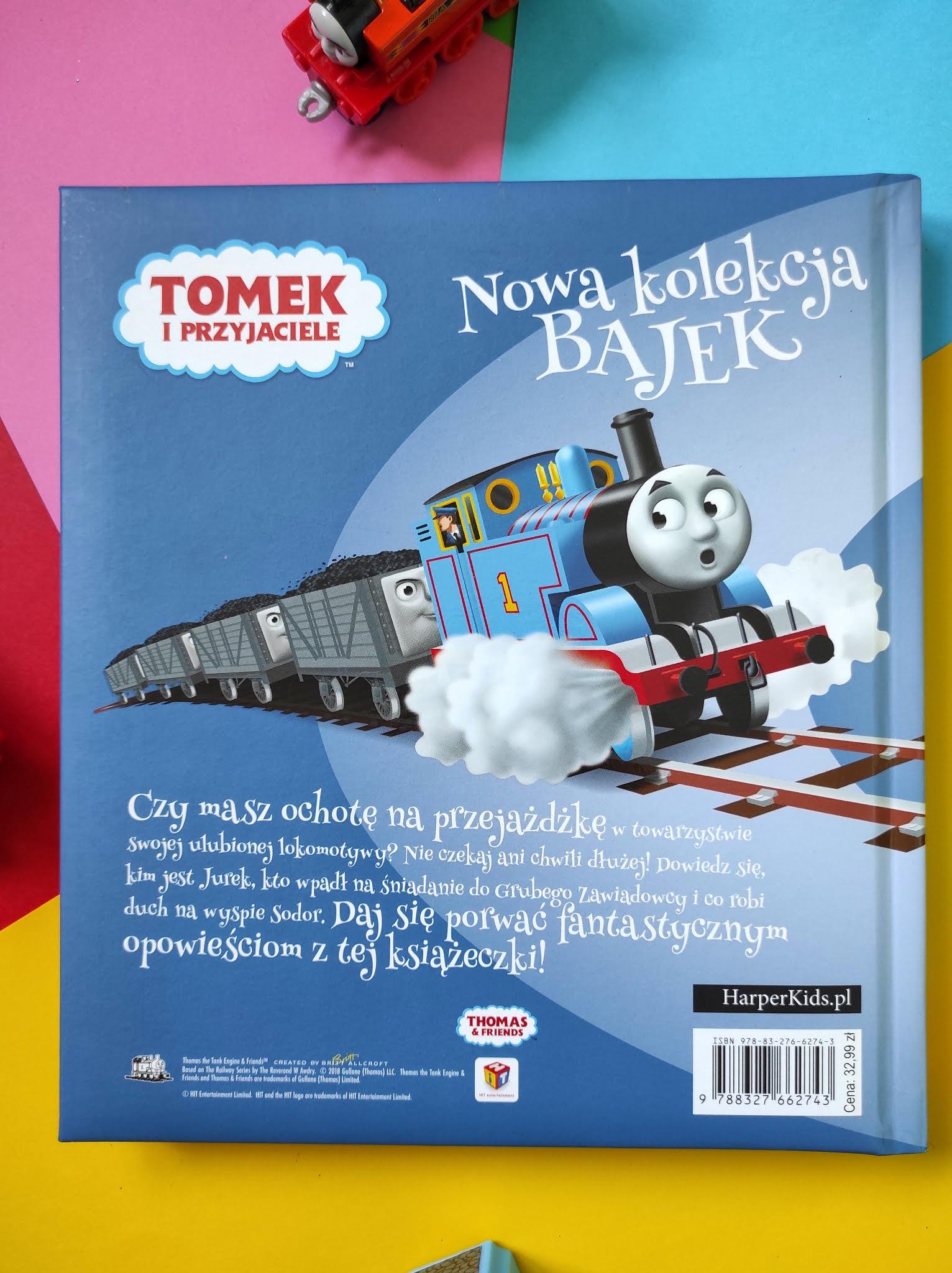 """""""Tomek i przyjaciele. Nowa kolekcja bajek."""""""