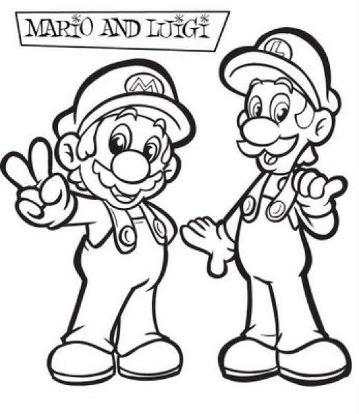 Malvorlagen Mario Super Mario Coloring Pages Free Printable