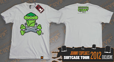 "Johnny Cupcakes 2012 Suitcase Tour ""Cupcakes From The Crypt"" Exclusives - Frankie Bones"