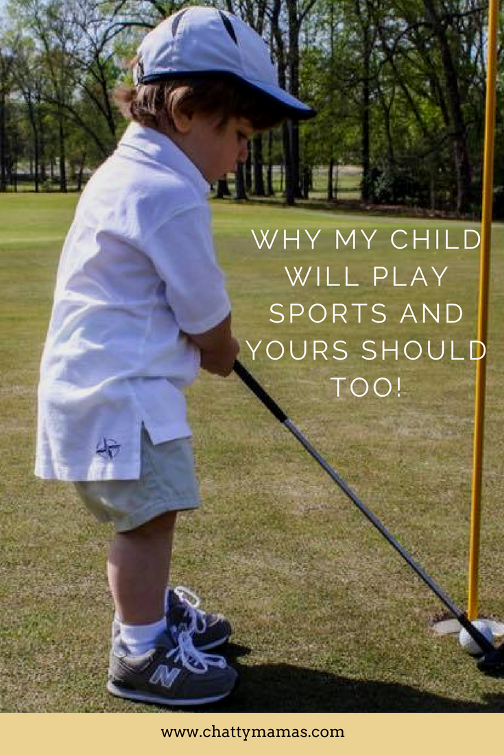 why children should play sports