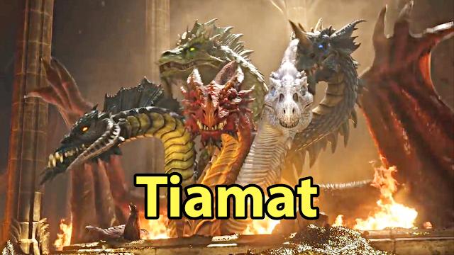 A verdadeira história de Tiamat, a deusa dracônica!