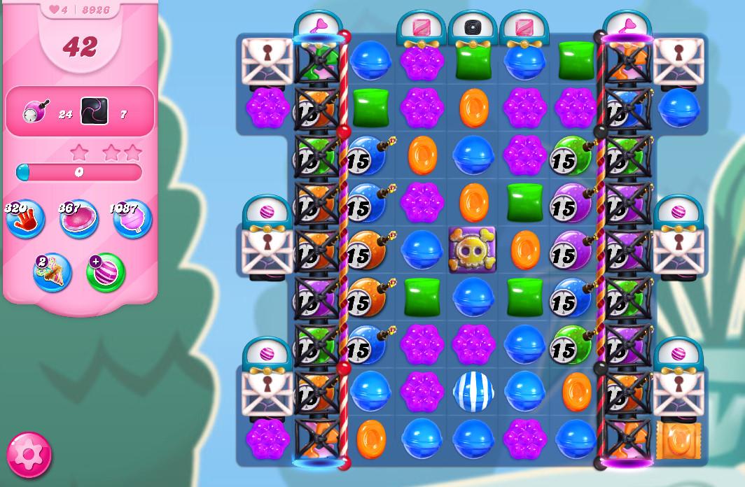 Candy Crush Saga level 8926