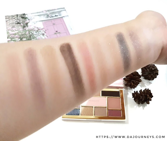 Review Romand Perfect Styling Eye Palette Temptation Night