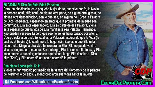 Una Mujer de Fe la Novia del Cordero - William Branham en Español