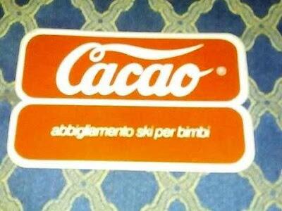 Il vecchio logo della catena per bambini Cacao
