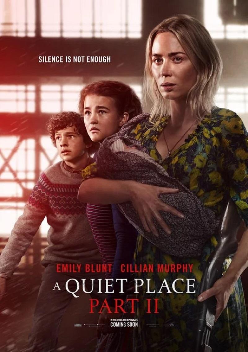 a quiet place part 2 poster