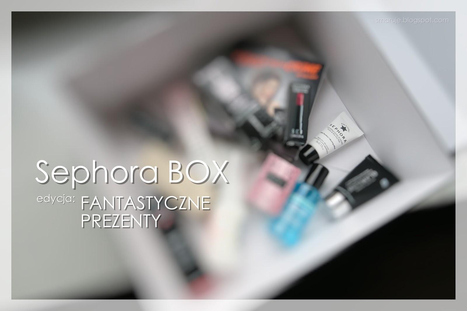 Co znalazłam w najnowszym Sephora BOX i jak to wszystko działa? /uwaga: dużo zdjęć/