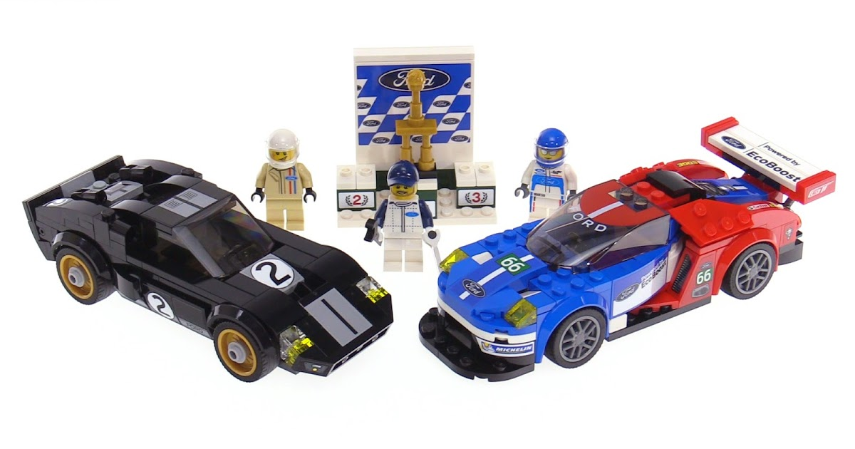 LEGO Speed Champions Ford GT & GT40 review! 75881