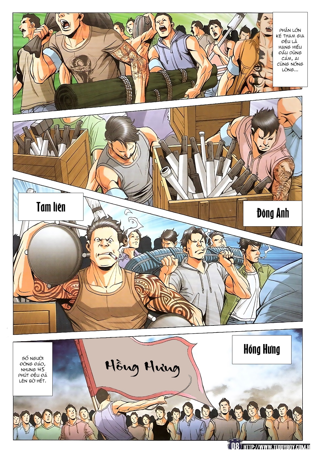 Người Trong Giang Hồ chapter 1829: khai chiến trang 6