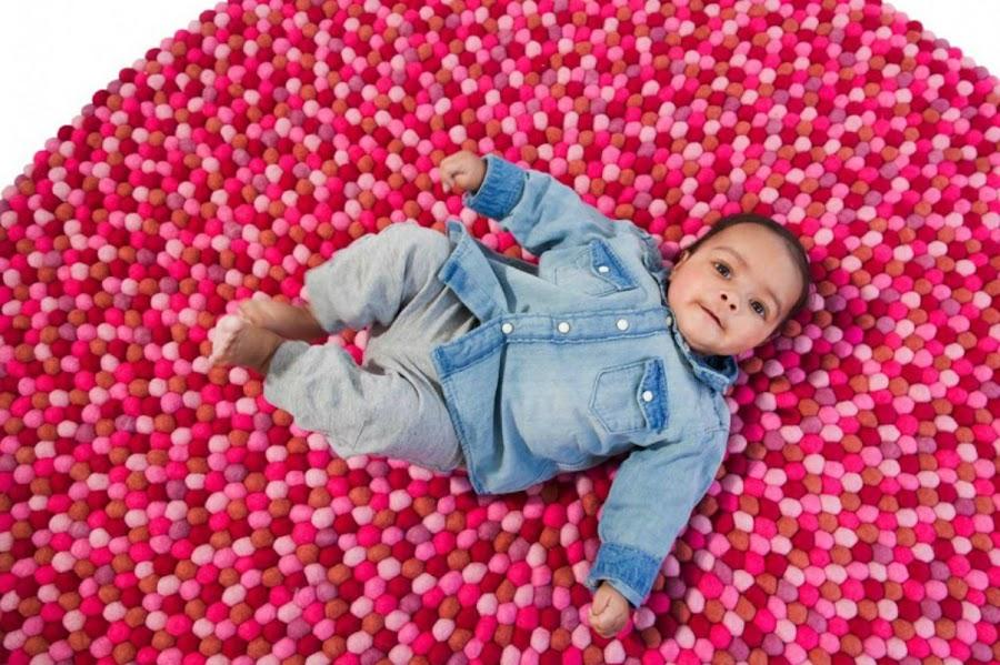 alfombra bolas
