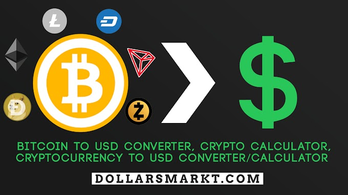 Free Bitcoin Calculator 1BTC to USD, Ethereum to USD - DollarsMarkt