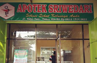 Apotek Sriwedari Pati membuka LOWONGAN KERJA untuk posisi ASISTEN APOTEKER dengan Kualifikasi