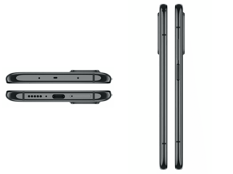 Alleged renders of the Mi10T, Mi10T Pro's sides, top and bottom
