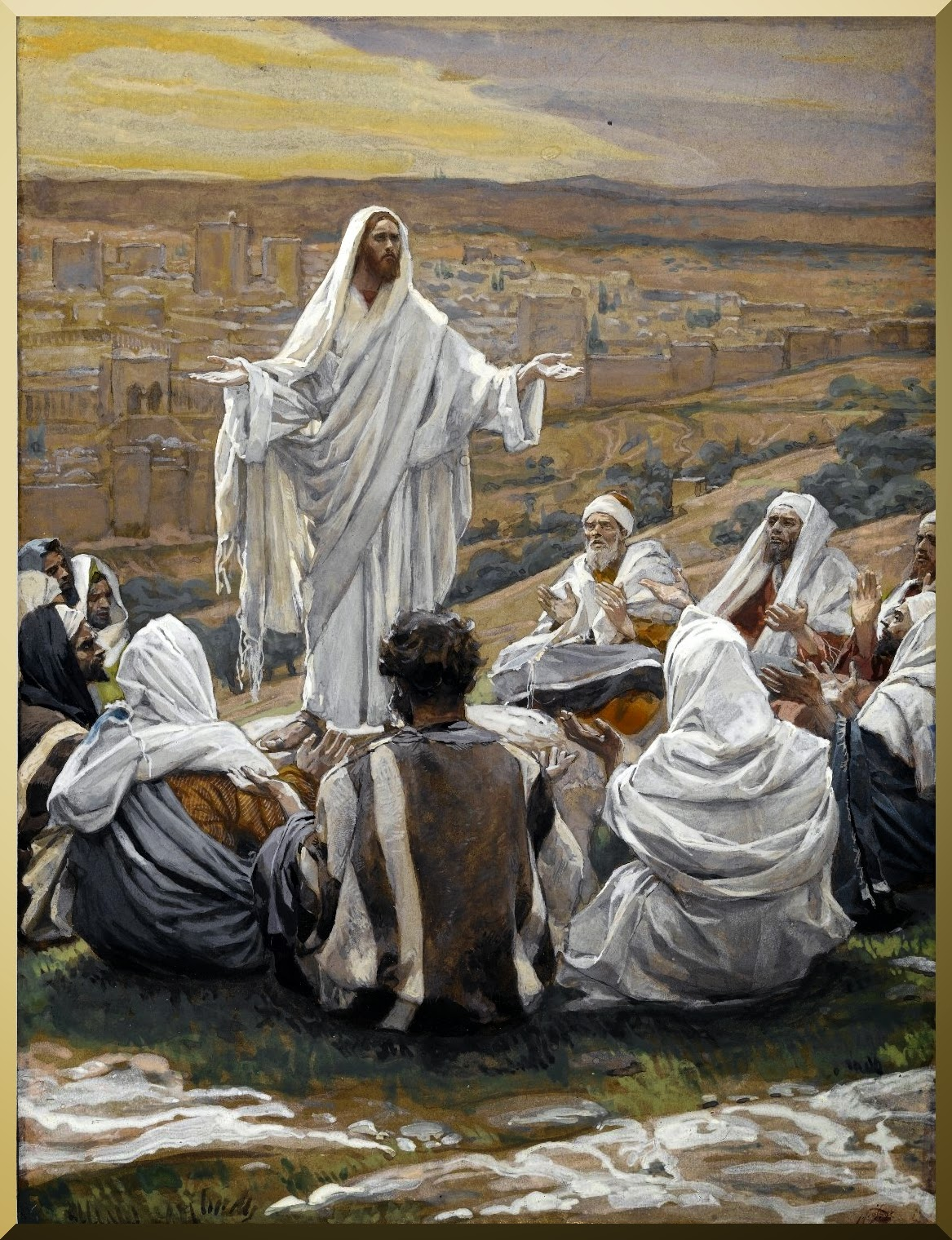 """The Lord's Prayer"" -- by James Tissot"