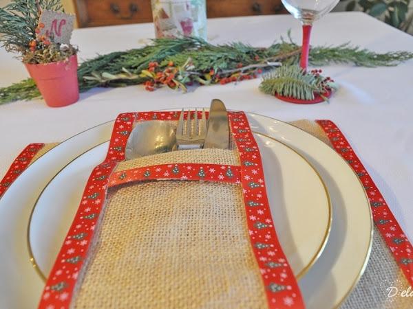 DIY: Decoración mesa de Navidad