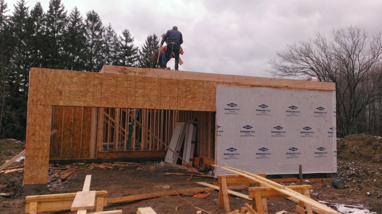 Building With Wayne Homes In New Castle Pa 2nd Floor Started