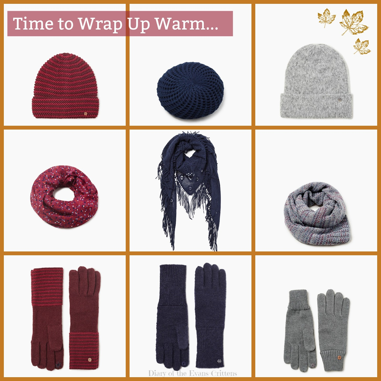 , Style:  The Best Scarves, Hats and Gloves for Winter 2017 #AW17