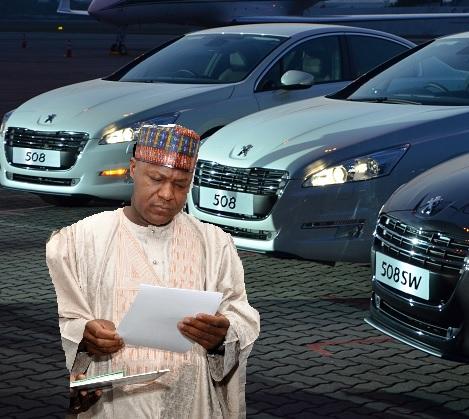 Reps Buys N3.6B cars