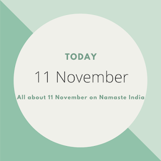 11th November - A Day in the life of India