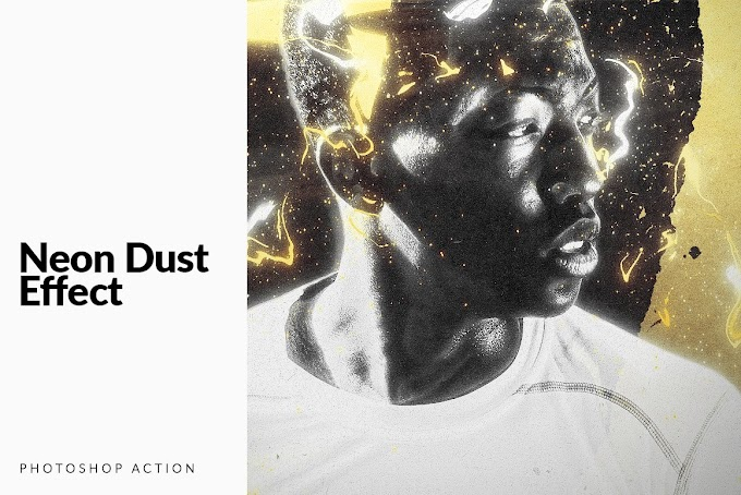 Neon Dust[Photoshop ][Action][5350079]