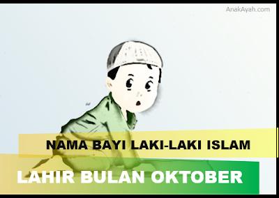 80 nama bayi laki-laki islam yang bagus dan lahir bulan oktober.