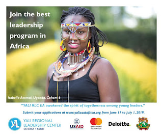 YALI Fellowship program 2019- Full funded to Nairobi