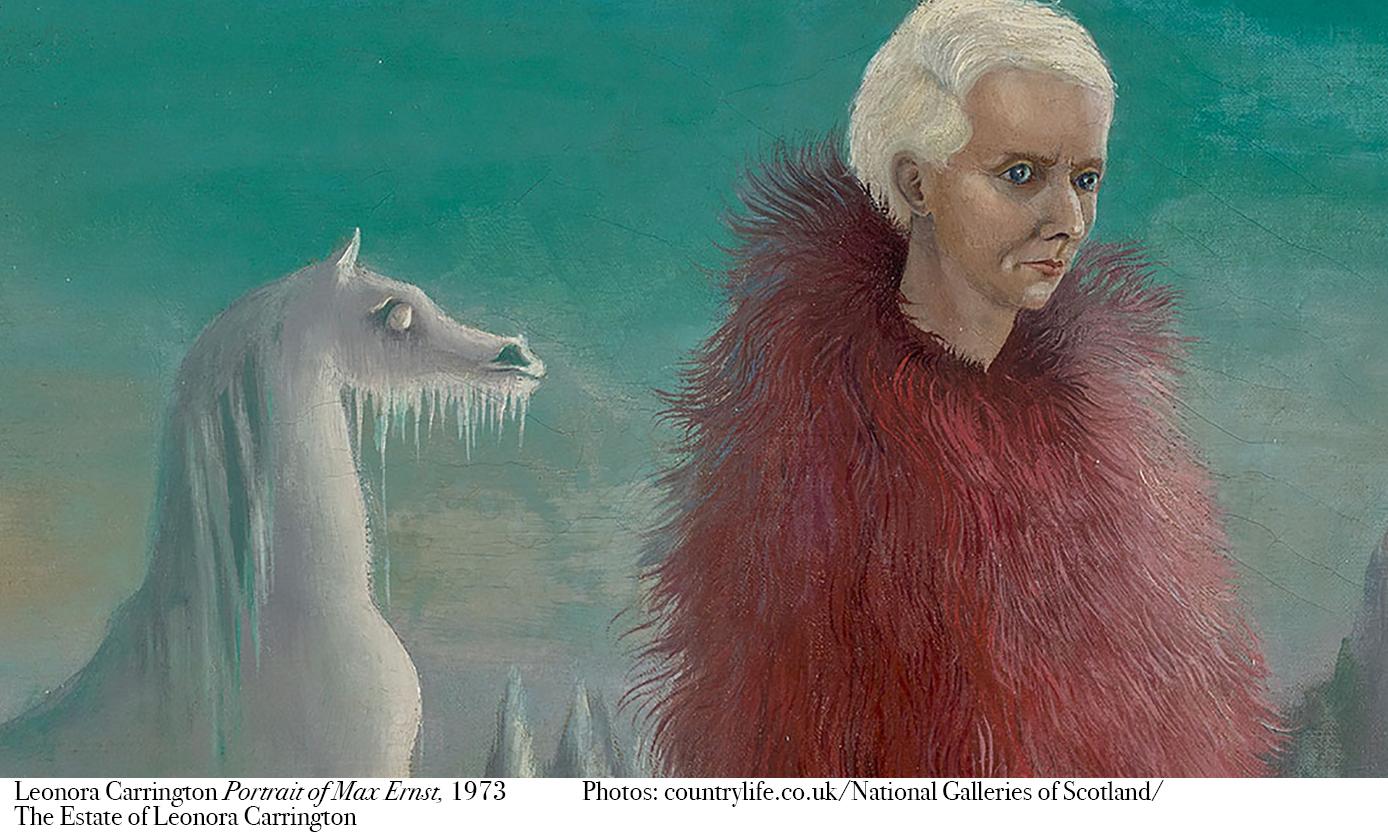 Leonora Carrington Portrait of Max Ernst