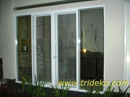 Trideko Interior Pintu Swing Aluminium