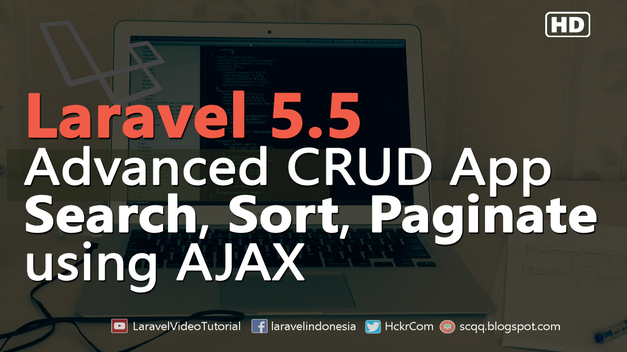 Laravel 55 ajax tutorial advanced crud operation with ajax video tutorrial how to create crud example with ajax baditri Choice Image