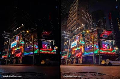 vivo night photography