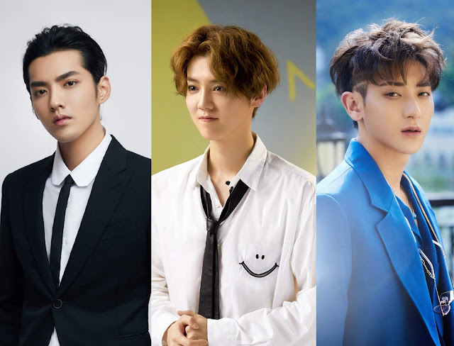 It's an SM Reunion with Former EXO members Kris, Luhan and Tao Together for Produce Camp 2020