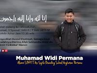 Penuturan Inspiratif Muhammad Ruhiyat Haririe, Sahabat Karib Almarhum Muhamad Widi Permana