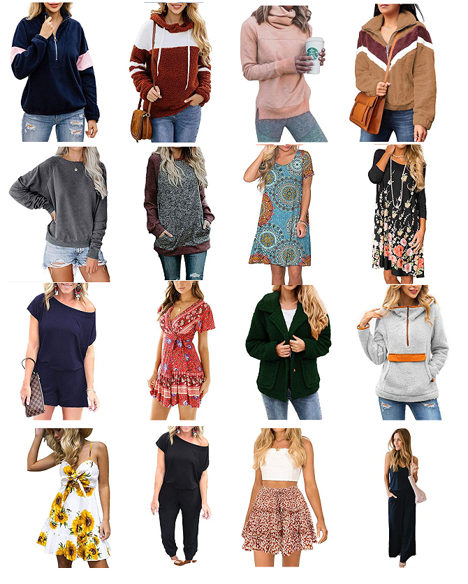 More than 20 styles womens clothing 40% off