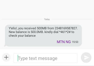 Latest: Get Free MTN 500MB Data via 20bids App - Android