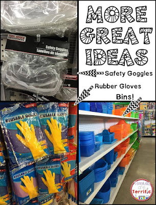 Dollar Store finds for your science or STEM class!