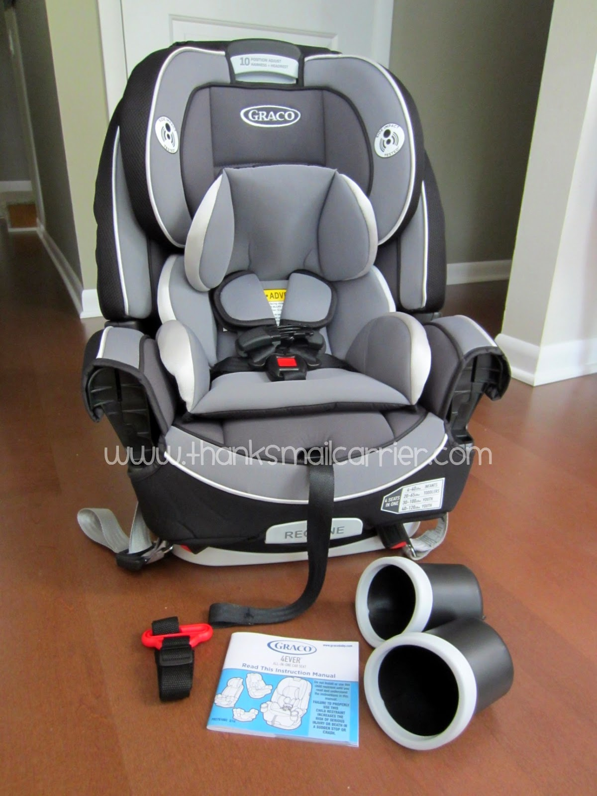 Thanks, Mail Carrier | From Baby to Big Kid: Graco 4Ever 4 ...